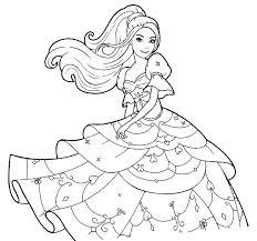 Barbie Color Pages Barbie Coloring Pages Print Printable Mermaid