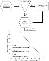 Wheat Growth Chart Flow Chart Depicting The N Recommendation System For Soft