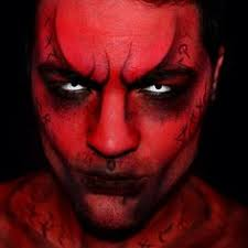 creepy demon makeup rose demon makeup mens makeup more