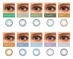 Bausch And Lomb Contact Lenses Color Chart Soflens Natural Colours Contact Lenses