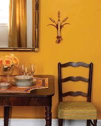 orange wall paintDecorating with Fall Colors  Martha Stewart