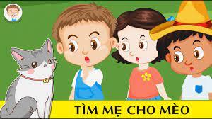 Phim hoạt hình trẻ em   Tập 22 - Tìm Mẹ Cho Mèo   BINGO Và Các Bạn - YouTube