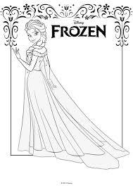 Kleurplaat Disney Frozen Elsa Auto Electrical Wiring Diagram