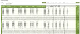Free Employee Database Template In Excel Salary Slip Excel Templates Employee Database Sample