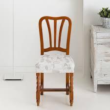 funda silla asiento bielastica mariposas color crudo g