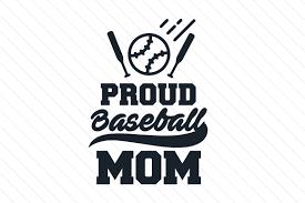 Proud Baseball Mom Svg Cut File By Creative Fabrica Crafts Creative Fabrica