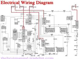 volvo excavator wiring diagram volvo wiring diagrams online