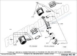 engine related schematics info the ford 8 cylinder 272 292 302 332 o h v engines