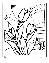 Flowers Coloring Pages Color Printing Flower Coloring Pages