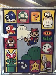 Projects From Mario Quilt Design | Craftsy & Super Mario Adamdwight.com