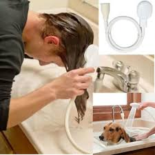 hair dog pet shower spray hose bath tub sink faucet attachment washing bath tool
