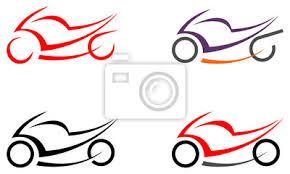 Fototapeta Motorky Motocyklu Vektorový Obrázek Tetování
