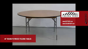 round wood folding tables 48 4 diameter