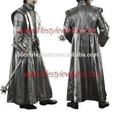 men gothic leather coat duster coats las long black leather coats long leather gothic coat chinchilla leather coats