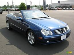 2005 Orion Blue Metallic Mercedes-Benz CLK 320 Cabriolet #15129471 ...