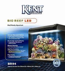 kent marine bio reef ready led aquarium 94 litre co uk pet supplies