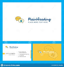 Chat Front Design Secure Chat Logo Design With Tagline Front And Back