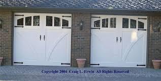 vintage garage doorsHandMade Custom Wood Garage Doors and REAL Carriage House Doors