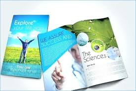 Medical Brochures Templates Unique Multi Page Brochure Template 48 Modern Medical And Healthy Brochure