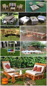 pallet outdoor furniture ideas. Insanely Smart And Creative DIY Pallet Outdoor Furniture Ideas