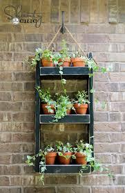 outdoor wall planter ideas designs in idea 15