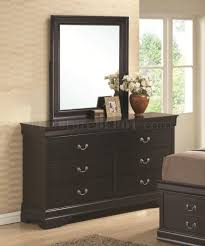Louis Philippe Furniture Bedroom Philippe 201079 Bedroom In Black By Coaster W Options