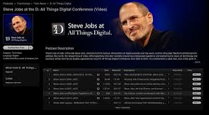 six historical steve jobs video interviews on itunes steve jobs at the d all things digital conference