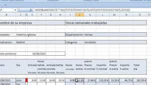 Calculo Horas Extras En Excel Parte 3 Calculo Horas Extras En Excel