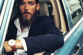 Hairstyle Editor For Men 30 Male Models With Beards Thefashionspot