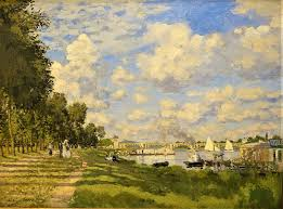 the basin at argenteuil by claude