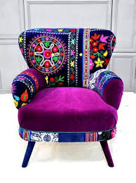 colorful furniture for sale. Bohemian Chair Love Vibrant Furniture AND Its A Lot Of Purple Colorful For Sale G
