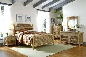 decoration: White Wicker Bedroom Furniture