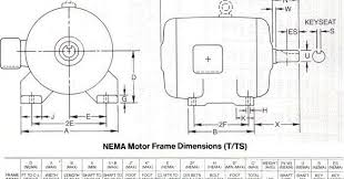 Ac Motor Kit Picture Ac Motor Frame Size Chart