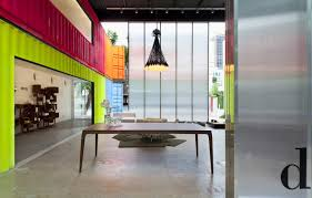 kogan furniture. 22 Most Beautiful Houses Made From Shipping Containers : Painted Decameron Marcio Kogan Dining Furniture  