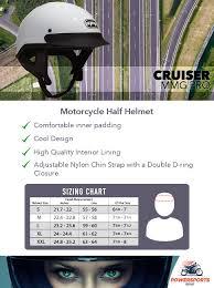 Indian Motorcycle Helmet Size Chart