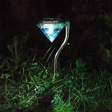china diamond shape motion sensor garden lights outdoor garden lights solar power supplier