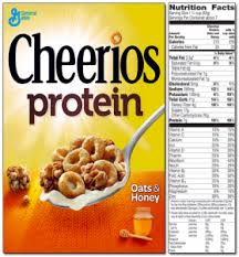 its scientists did the math and pared the protein to the amount in regular cheerios they also looked at serving