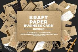 Business Card Templates Creative Market