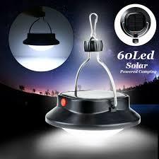 Outdoor Solar Camping Lantern Ip65 60led Solar Powered Camping