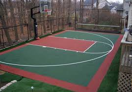 backyard ideas basketball court. backyard basketball court ideas contemporary with image of model at b