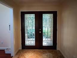 front door with glass panel above front door with glass security front door glass inserts