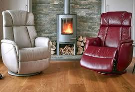 electric rock swivel gfa soro leather electric rock swivel recliner chair