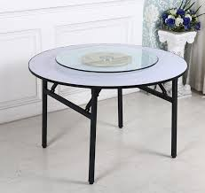 hotel round table table banquet table steel pipe pvc table whole custom folding table large round