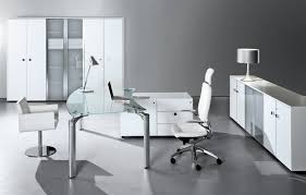 white modern office.  Office Great Opulent Ideas White Office Furniture Marvelous Decoration Enchanting  In Plan With Modern Romper Runway