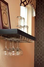 Easy To Install Floating Shelves DIY floating shelf wine rack Rack and shelf both from Lowes 47