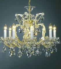 maria theresa crystal chandelier chandeliers clear and gold style hampton bay 6 light
