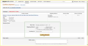 Amazon On Shipment Shipment Amazon Confirm On Confirm