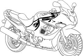 Small Picture Free Printable Motorcycle Coloring Pages For Kids Printable Color