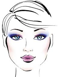 Face Charts Extract From Make Up By Eve Oxberry How To