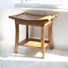teak bathroom stools. 18\ Teak Bathroom Stools